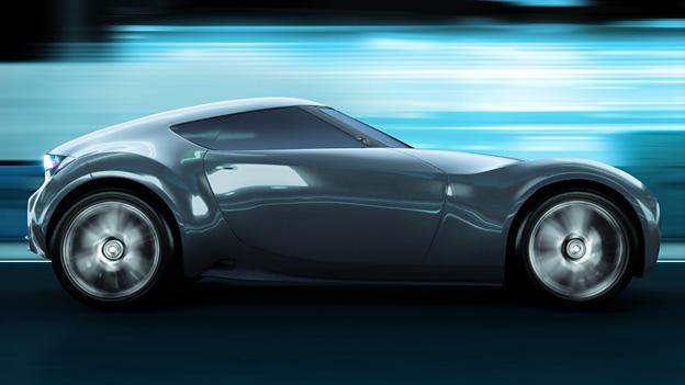 Nissan Esflow Sketch Seite Exterieur Seite