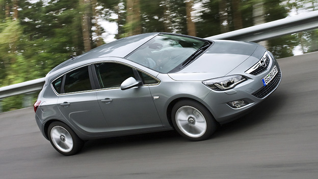 Opel Astra Exterieur Dynamisch Seite Front