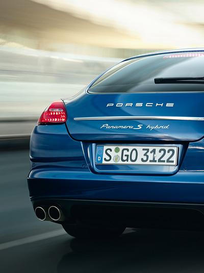 Porsche Panamera Exterieur Dynamisch HEck