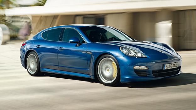 Porsche Panamera Exterieur Dynamisch Seite