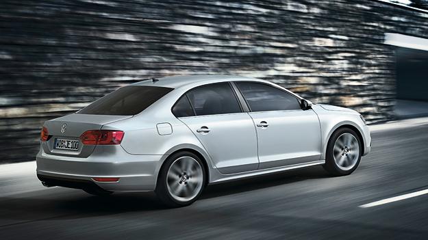Volkswagen VW Jetta Exterieur Dynamisch HEck Seite