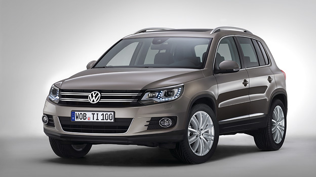 VW Tiguan Statisch Exterieur Front