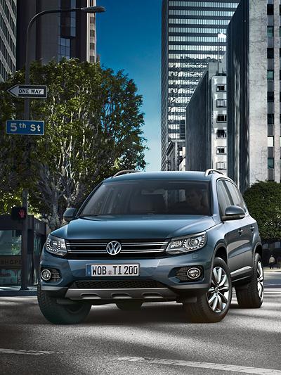 VW Tiguan Exterieur Statisch Front