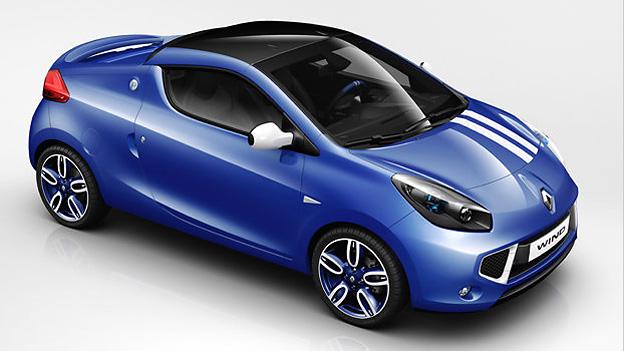 Renault Gordini Wind Exterieur Statisch Oben Front