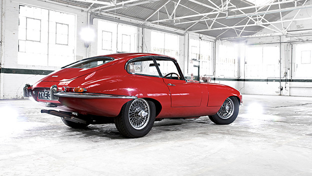 Jaguar E-Type stat HiLi