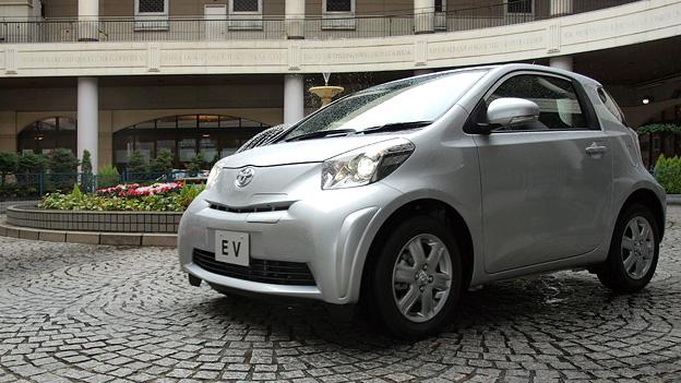 Toyota iQ EV Exterieur Statisch front