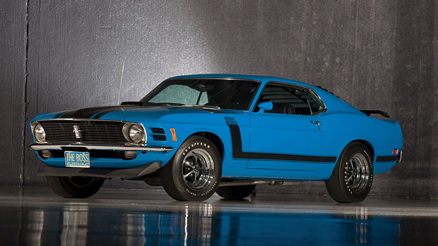 Radical Mag Peter Ruch Ford Mustang Boss 302 1969 Courtesy of RM Auctions