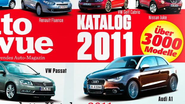 Autorevue Katalog 2011 - alle Autos, die 2011 in Österreich erhältlich waren