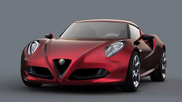 Alfa Romeo 4C Concept Exterieur Statisch Front