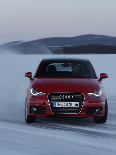 Audi A1 S1 Exterieur Dynamisch Front Drift