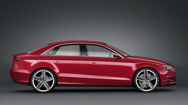 Audi A3 Concept Exterieur Statisch Seite