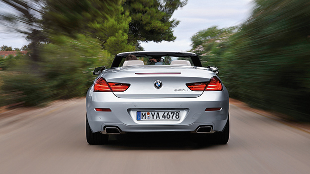 BMW 6er Cabrio Statisch Exterieur HEck