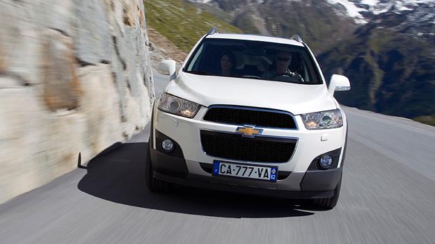 Chevrolet Captiva Exterieur Dynamisch Front