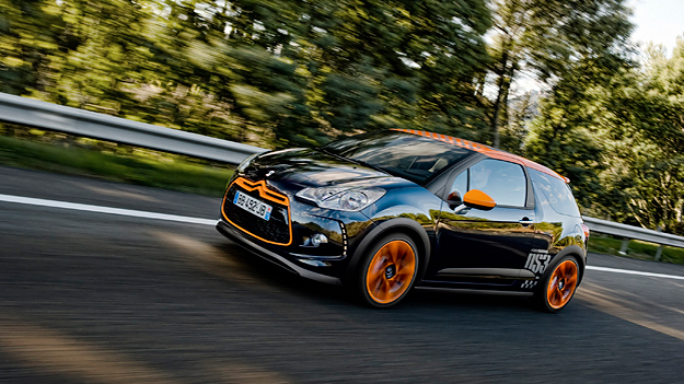 Citroën DS3 Racing Exteireur Dynamisch Front Seite