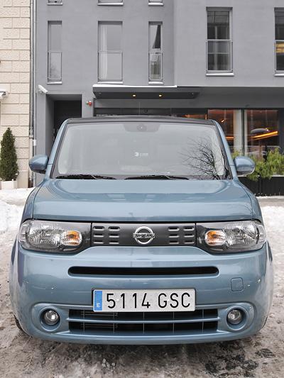 Nissan Cube Front Statisch Exterieur