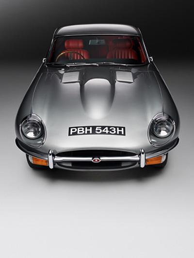 Jaguar EType growler E2011 Statisch Exterieur Front