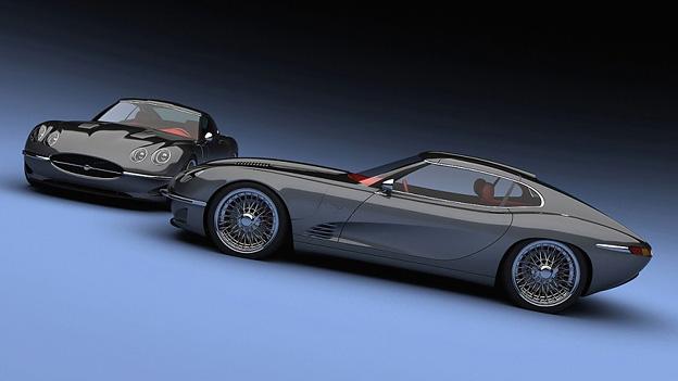 Jaguar EType growler E2011 Statisch Exterieur Seite Front