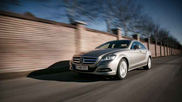 Mercedes Benz CLS 350 CDI Exterieur Dynamisch Front Seite