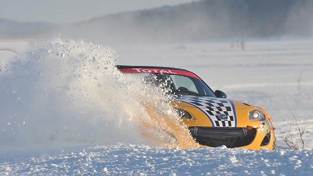 David Staretz Blog MAzda Ice Race Schweden