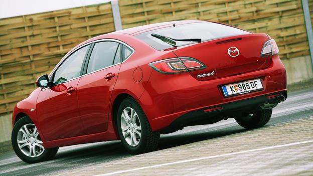 Mazda 6 Exterieur Statisch HEck Seite