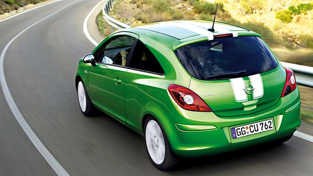 Opel Corsa Exterieur Dynamisch Heck