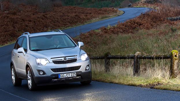 Opel Antara Exterieur Dynamisch Front