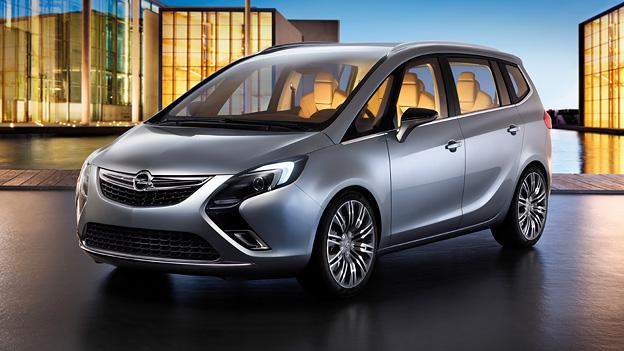 Opel Zafira Tourer Concept Exterieur Statisch Front