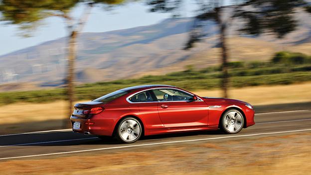 BMW 6er Coupé dyn hire