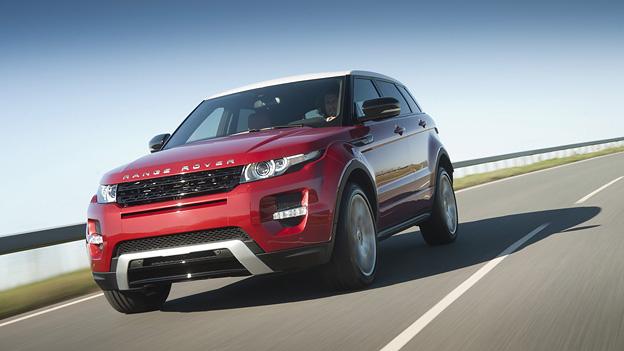 Land Rover Range Rover Evoque Exterieur Dynamisch Front