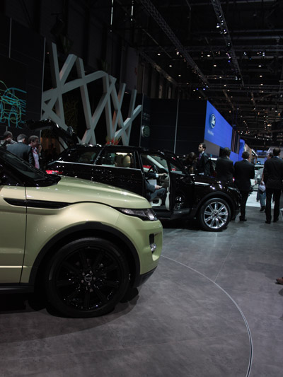 Range Rover Evoque stat rechts