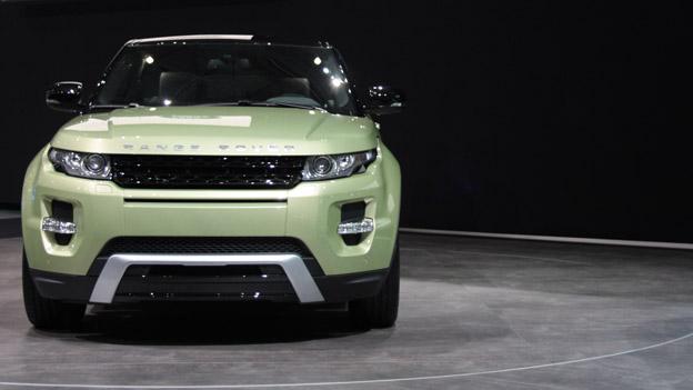 Range Rover Evoque stat vorne