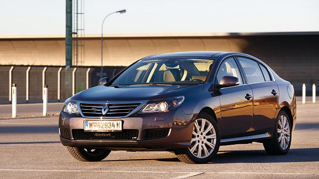Renault Latitude Exterieur Statisch Front