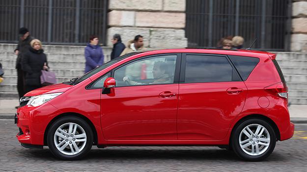 Subaru Trezia Exterieur Statisch Seite