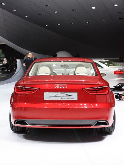 Audi A3 Concept stat hinten