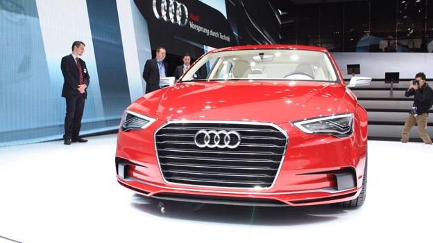 Audi A3 Concept stat vorne