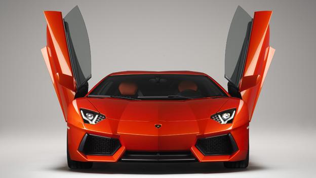 Lamborghini Aventador Exterieur Front