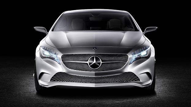 Mercedes Benz A-Klasse Konzept Exterieur Statisch Front
