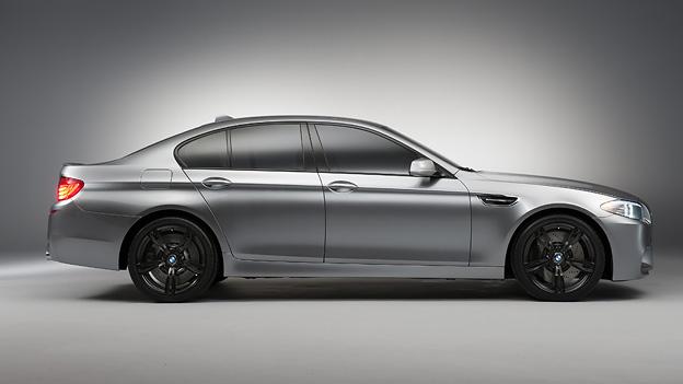 BMW M5 Concept Exterieur Statisch Seite