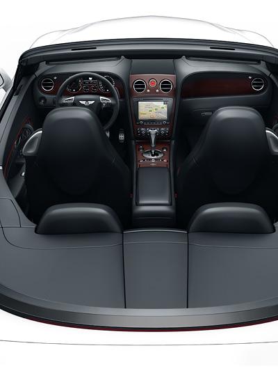 Bentley Continental Supersports Cabrio ISR Interieur