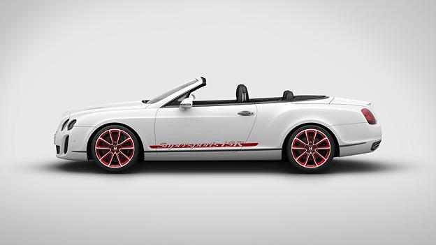 Bentley Continental Supersports Cabrio ISR Exterieur Statisch Seite