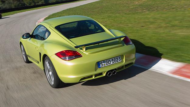 Porsche Cayman R Exterieur dynamisch Heck