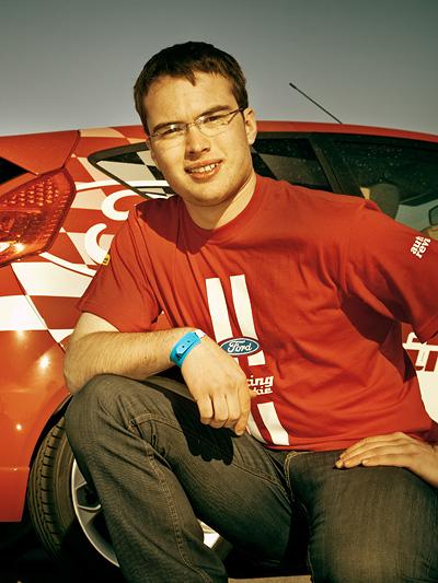 Racing Rookie Jürgen Skarwan