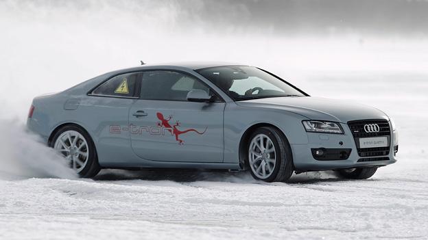 Audi A5 E-tron Exterieur Dynamisch Front Seite