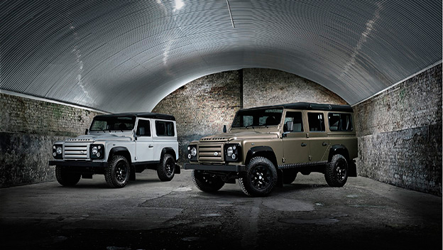 Land Rover Defender Rough stat
