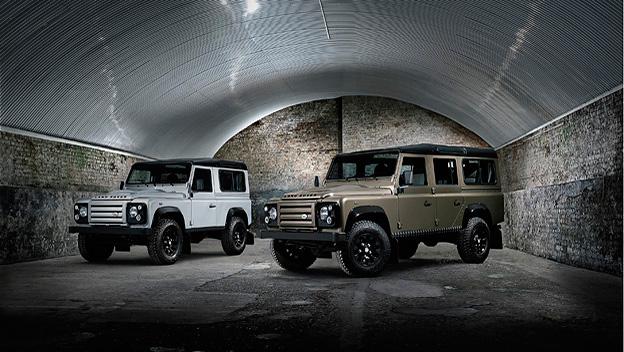 Land Rover Defender Rough stat