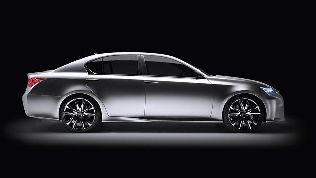 Lexus LFGH Exterieur Statisch Seite