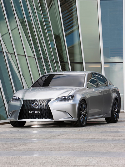 Lexus LFGH Exterieur Statisch Front