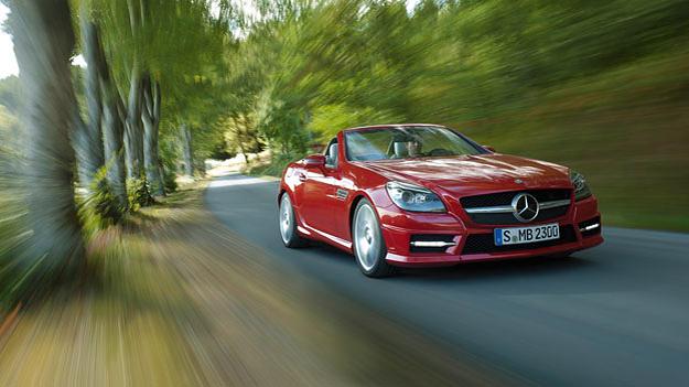 Mercedes Benz SLK Exterieur