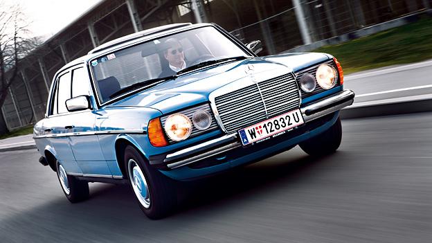 Zeitmaschine 1967 Mercedes W123