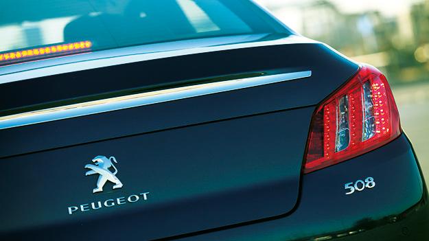 Peugeot 508 Exterieur Statisch Heck